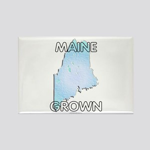 Maine grown Rectangle Magnet