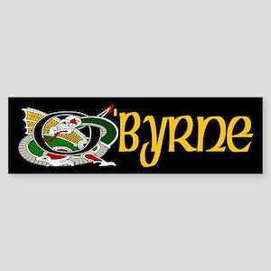 O'Byrne Celtic Dragon Sticker (Bumper)