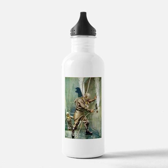Salvage Divers Welding Water Bottle