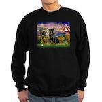 Autumn Angel & Rottie Sweatshirt (dark)