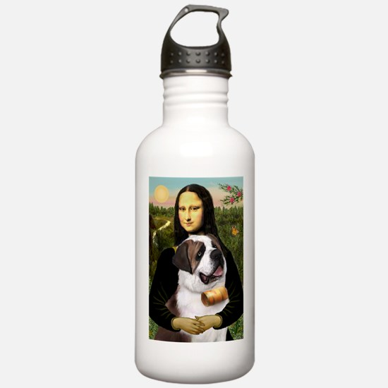 Cute St bernard Water Bottle