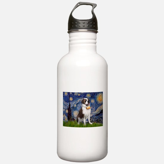 Unique St bernard Water Bottle
