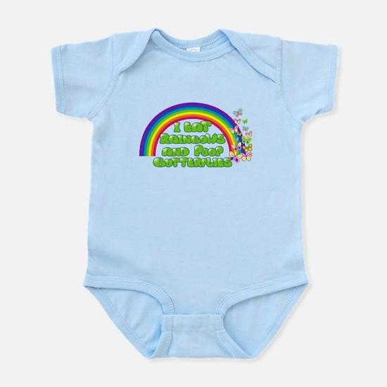 Rainbows and Butterflies Infant Bodysuit