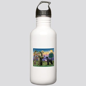 St. Francis & Giant Schnauzer Stainless Water