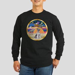 XmasStar/Schnauzer # 2 Long Sleeve Dark T-Shirt
