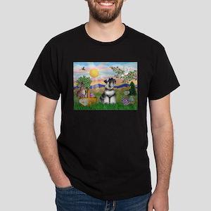 Easter Schnauzer Dark T-Shirt