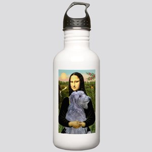 Mona & her Deerhound Stainless Water Bottle 1.0L