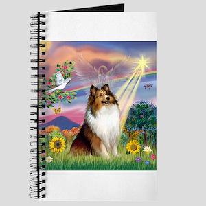 Cloud Angel Sheltie Journal