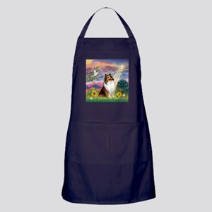 Cloud Angel Sheltie Apron (dark)