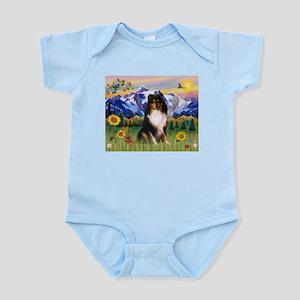 Mt. Country & Tri Shetland Sheepdog Infant Bodysui