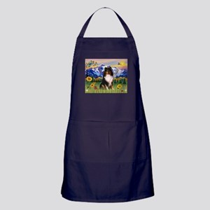 Mt. Country & Tri Shetland Sheepdog Apron (dark)
