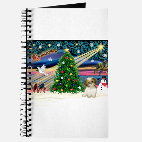 XmasMagic/Shih Tzu pup Journal