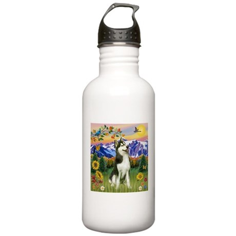 Mt Country & Husky Stainless Water Bottle 1.0L