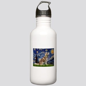 Starry Night & Husky Stainless Water Bottle 1.0L