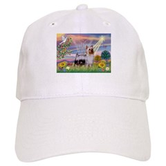 Cloud Angel & Silky T (chrmr) Baseball Cap