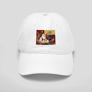 Santa's three Chihuahuas Cap