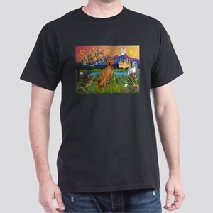 Vizsla in Fantasyland Dark T-Shirt