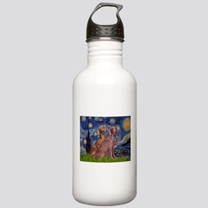 Starry Night Weimaraners Stainless Water Bottle 1.