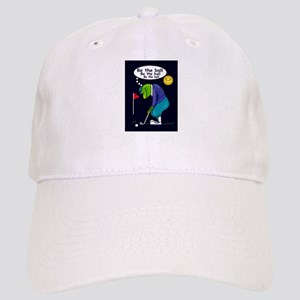 9ee4f4f9639 Frog Golfer - Be the Ball (Bl Cap