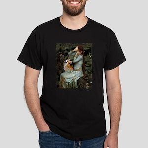 Ophelia & her Corgi (Pem) Dark T-Shirt
