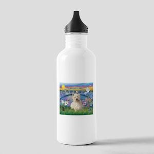 Sunrise/Westie (1) Stainless Water Bottle 1.0L
