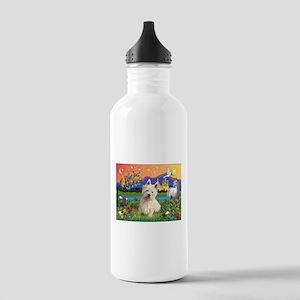 Fantasy Land Westie Stainless Water Bottle 1.0L
