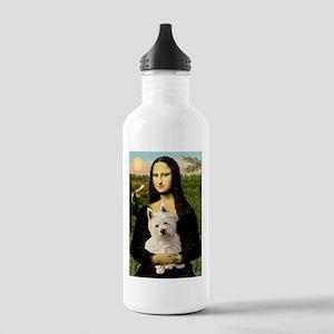Mona Lisa & West Hightland Stainless Water Bottle