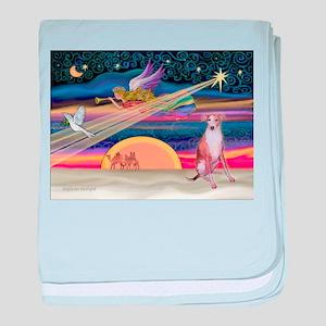 XmasStar/Whippet (#7) baby blanket