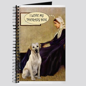 Mom's Therapy Dog (Lab-Y) Journal