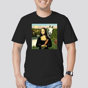 Mona's Arabian Horse (#1) Men's Fitted T-Shirt (da