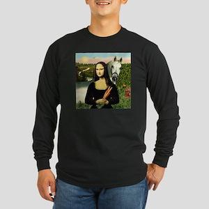 Mona's Arabian Horse (#1) Long Sleeve Dark T-Shirt