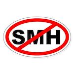 No SMH Sticker (Oval Euro Sticker)