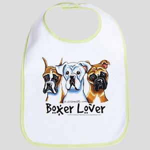 Boxer Lover Bib