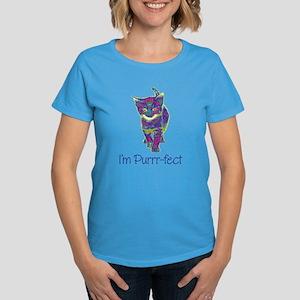 Purrr-fect Women's Dark T-Shirt