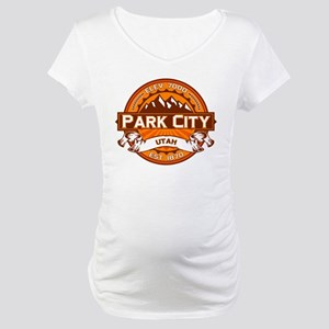 Park City Tangerine Maternity T-Shirt