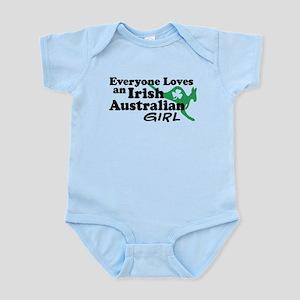 Irish Australian Girl Infant Bodysuit