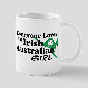 Irish Australian Girl Mug