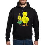 Bagpipe Chick Hoodie (dark)