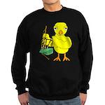 Bagpipe Chick Sweatshirt (dark)
