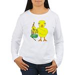 Bagpipe Chick Women's Long Sleeve T-Shirt