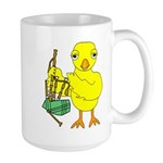 Bagpipe Chick 15 oz Ceramic Large Mug