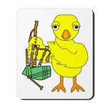 Bagpipe Chick Mousepad