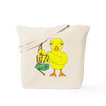 Bagpipe Chick Tote Bag