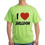 I love Sheldon Green T-Shirt