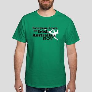 Irish Australian Boy Dark T-Shirt