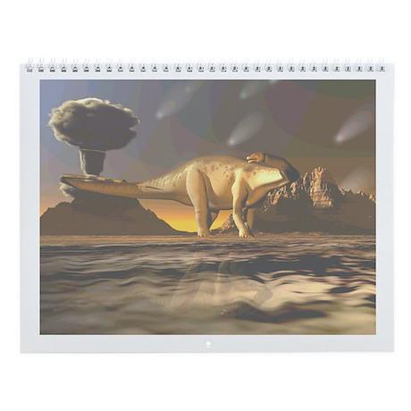 Dinosaur Park Wall Calendar