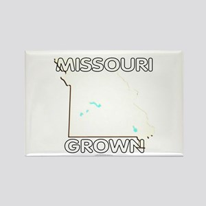 Missouri grown Rectangle Magnet