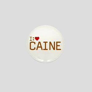 I Heart Caine Mini Button