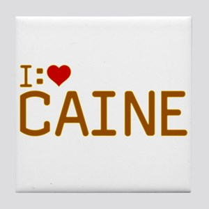I Heart Caine Tile Coaster