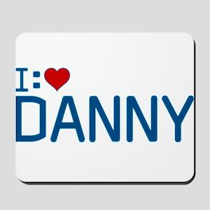 I Heart Danny Mousepad